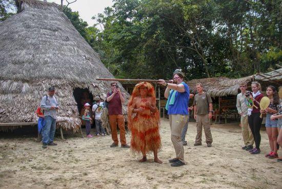 Visita a Comunidad Nativa